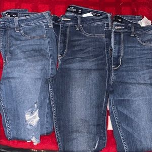 Bundle of 3 Hollister Jegging with Plenty Stretch